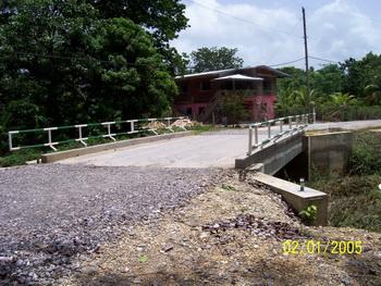 Killdeer's new and improved bridge